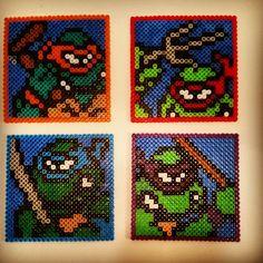 TMNT perler beads by bfaslewis