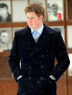 Prince Harry :) @Lauren Beltz While your in Germany be on the lookout... I mean its all Europe... right?