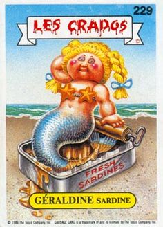 Rarest and most expensive garbage pail kids cards ever for Fish tank odor eliminator