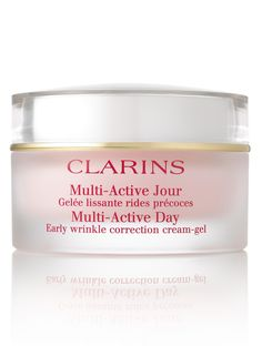 Clarins Multi Active Jour facial moisturizer. I use this for day and night, actually. I find it is just the perfect balance for me. I've gone the rounds with day creams, this is the one I always go back to. $50 (ish)