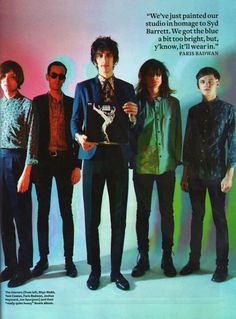 Well dressed guys: The Horrors in Q magazine (June Photo by Tom Oxley Kate Powell, Police, Queen Love, Love Affair, Beautiful One, Music Is Life, Cute Guys, Well Dressed, A Good Man