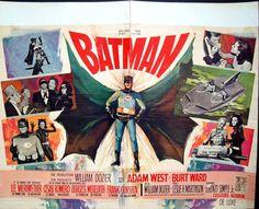 Batman The Movie Belgian poster. Art by Ray (Raymond Elseviers). Adam West, Batman Poster, Batman Comics, All Batmans, Burt Ward, Batman Tv Series, Futuristic Art, Batman Robin, Film Posters