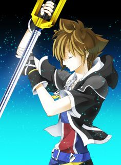 Sora. I don't really like him, but he looks real good here.