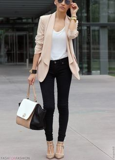 My obsession.. Blazer and jeans