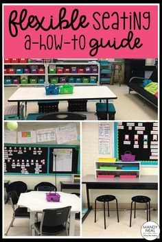 Two teacher's tips for setting up a successful flexible seating classroom. Includes a free printable too!