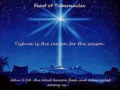 Love For His People: Yeshua (Jesus) was born during the Feast of Tabernacles (Sukkot)