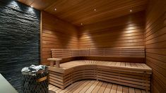 I wonder if you could do a non-spa room like this. Infrared Sauna, Sweet Home, Stairs, Bathtub, Cottage, Saunas, House, Sauna Ideas, Design
