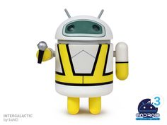 Android Mini Series 3 Intergalactic by KaNO Figure Height: Medium: Vinyl Edition: Limited Designer: kaNO Andrew Bell, Android Series, Vinyl Toys, Designer Toys, Series 3, Plushies, Cool Toys, Piggy Bank, Minions