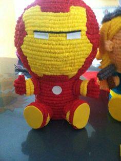 Iron-man centro de mesa.