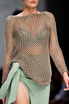 Ermanno Scervino at Milan Fashion Week Spring 2012 - StyleBistro