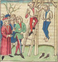 Antonius <von Pforr> Buch der Beispiele — Schwaben, um 1480/1490 Cod. Pal. germ. 85 Folio 198v