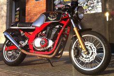 Suzuki GS500 by Free Kustom Cycles