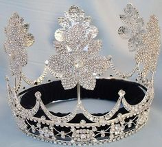 Beauty Pageant Silver Queen Princess Bridal rhinestone crown tiara The Lily Orleans The Lily Orleans