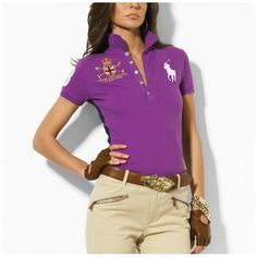 1b61d59ad8871 prix t shirt ralph lauren! ralph lauren femme deauville Big Pony Skinny Polo  rose lauren1544