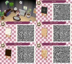 Flooring QR Codes for ACNL