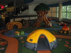 Arbor Place Mall- Indoor soft foam play area! Great for a break during a outing to the mall