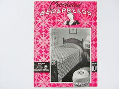 Crocheted Bedspreads Crocheting Instruction Booklet 21 Pages