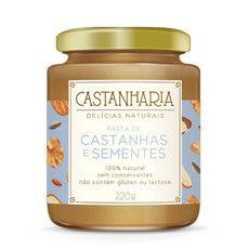 Pasta de Castanhas e Sementes Castanharia.