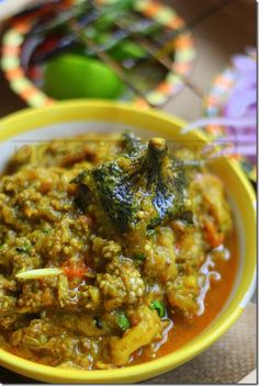 Kimbegunti or Minced Meat with Aubergine