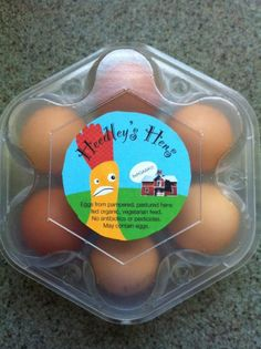 http://www.backyardchickens.com/forum/uploads/86005_week_28_egg_carton_with_label.jpg    Love these home made egg carton labels!