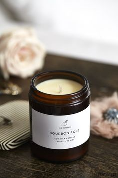 Great Photo Soy Candles packaging Strategies It's my job to appear to be to fi. Handmade Candles, Diy Candles, Soy Wax Candles, Scented Candles, Candle Jars, Photo Candles, Candle Picture, Natural Candles, Wedding Gift Inspiration