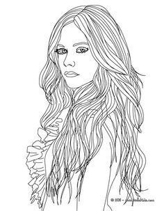 shakira coloring pages games - photo#17