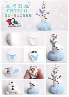 Vous aimeriez apprendre à faire Olaf pour faire plaisir à un enfant ou à vous même peut-être? Vous pourrez autant le faire en pâte à sucre (fondant) pour décorer un gâteau, qu'en pâte Fimo (polymère). Comme le modelage est le même principe, ces tutor