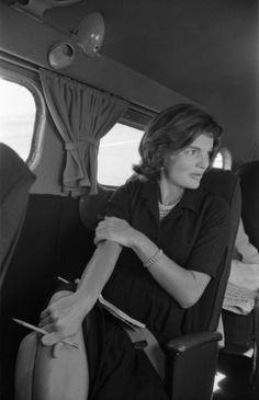 Not originally published in LIFE. Jackie Kennedy in 1960.