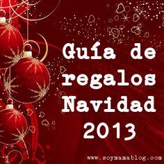 Guía de regalos - Navidad 2013.