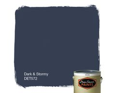 Dunn-Edwards Paints paint color: Dark & Stormy DET572 | Click for a free color sample.