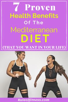 The Mediterranean diet is one of the best diets that promote health and longevity. The Mediterranean die is easy to maintain and helps with weight loss and overall health. Lose weight with this incredible diet. Quick Weight Loss Diet, Weight Loss Workout Plan, Weight Loss Program, Best Weight Loss, Weight Loss Tips, Lose Weight In A Week, How To Lose Weight Fast, Losing Weight, Best Healthy Diet