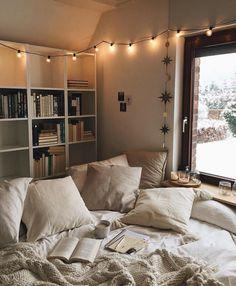 via heavywait - modern design architecture interior design home decor & Room Ideas Bedroom, Home Bedroom, Bedroom Decor, Bedrooms, Bedroom Inspo, Aesthetic Room Decor, Cozy Room, Dream Rooms, My New Room