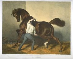 Alfred de Dreux, Le Pansage