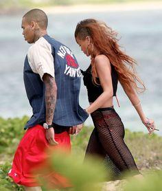 #Chris Brown & #Rihanna