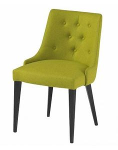 L Style Deep Buttoned Side Chair Height 850mm Depth 640mm Width 560mm