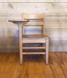 School house ROCK! Check out this  solid oak vintage school desk.