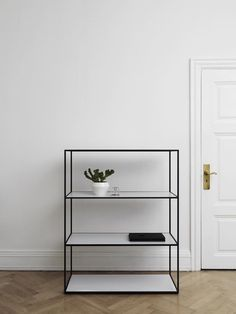 Kubus- Twin Bookcase-We're fans of Danish architect brothers Mogens Lassen and Flemming Lassen, especially their By Lassen Twin Bookcase.