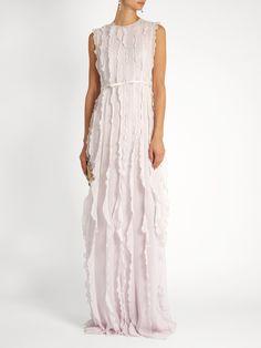 http://www.matchesfashion.com/intl/products/Giambattista-Valli-Ruffled-sleeveless-silk-georgette-gown-1067441