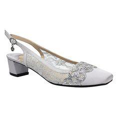 49f1e07356f Renee Women s Faleece Low Block Heel Slingback