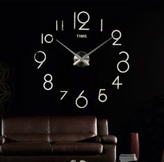 Wall clock sticker DIY, Zagar, Spiegel, Hodiny samolepky na zeď a stenu