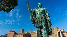 Standbeeld van Julius Caesar in Rome
