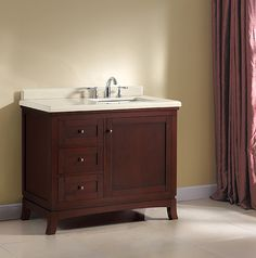 Best Single Bathroom Vanities Images On Pinterest Bath Vanities - Cabinets to go bathroom vanity