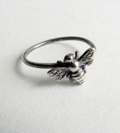 Queen Bee Sterling Silver Ring