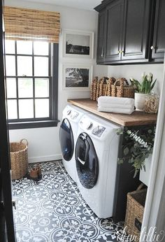 Dear Lillie: Our Laundry Room Makeover…  http://www.housedesigns.top/2017/07/18/dear-lillie-our-laundry-room-makeover/