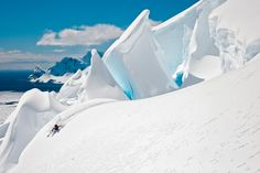 Mount Tennant, Antarctica  SKI Magazine