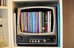 casa de fifia blog de decoração : ideias para reutilizar a velha televisao