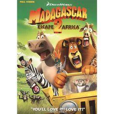 Madagascar: Escape 2 Africa /The Penguins of Madagascar (2 Discs) (Side By Side) (Fullscreen)