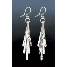 Sterling Silver Ribbons yEarrings - SkyMall