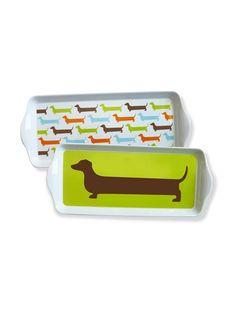 Happy 'Hot Dog' Trays.