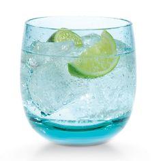 Azure Glass Tumblers.